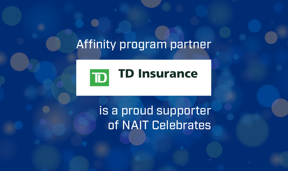 A graphic thanking affinity program partner TD Insurance.