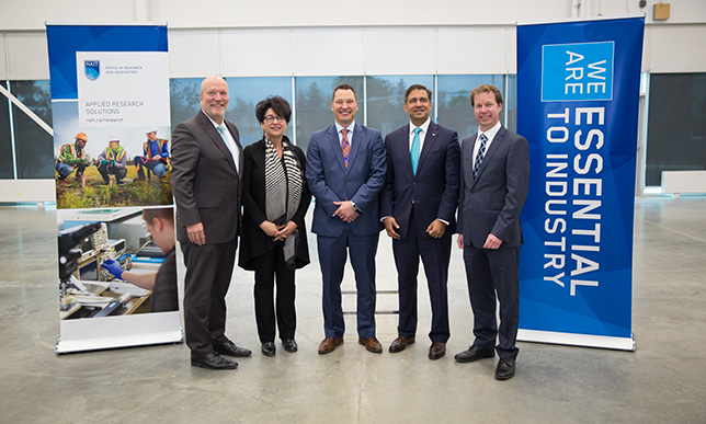 New NAIT research facility will help industry develop Alternative Energy Solutions