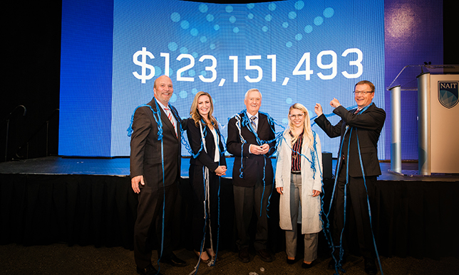 NAIT's fundraising campaign tops $123 million