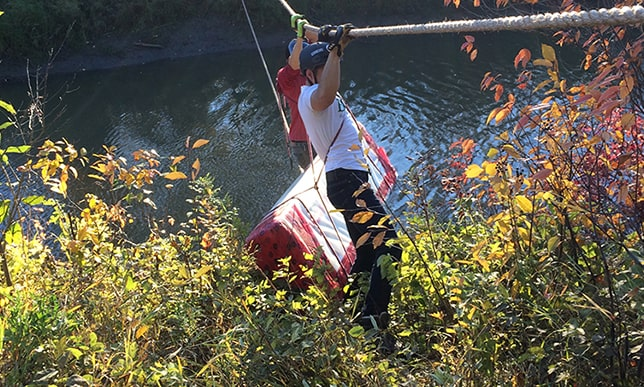 Engineering students to craft rope suspension bridges across Whitemud Creek
