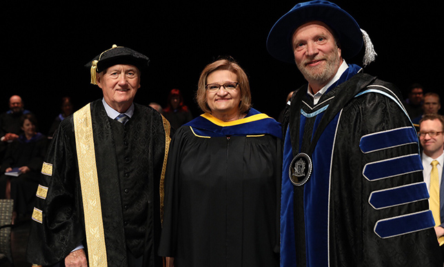 4 business leaders receive honorary degrees as NAIT celebrates largest convocation to date