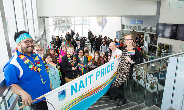 NAIT to kick off Pride Week with walk and rally