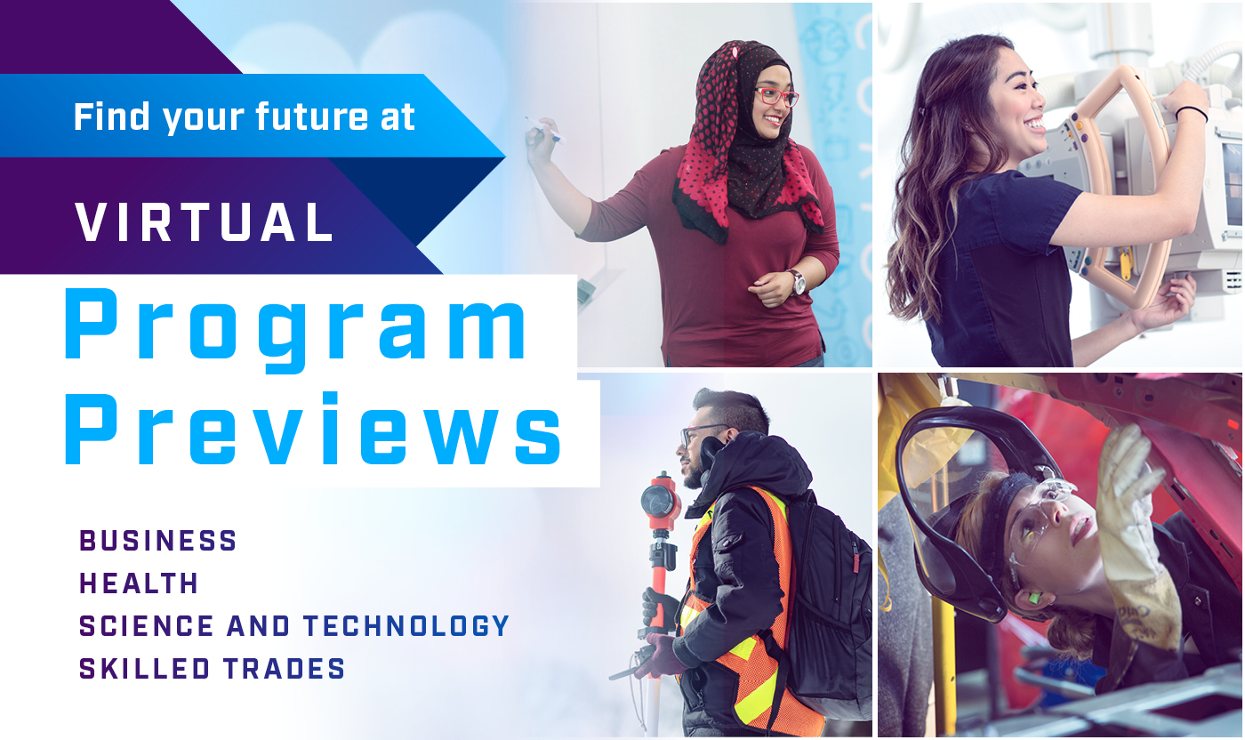 Find your future at Virtual Program Previews