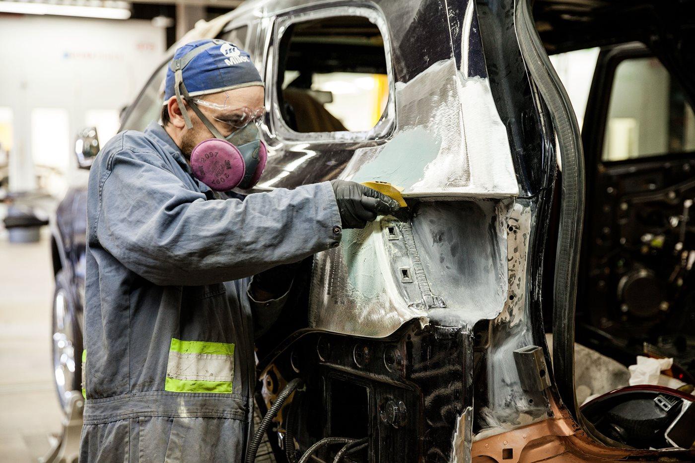Pre Employment Auto Body Repair Nait