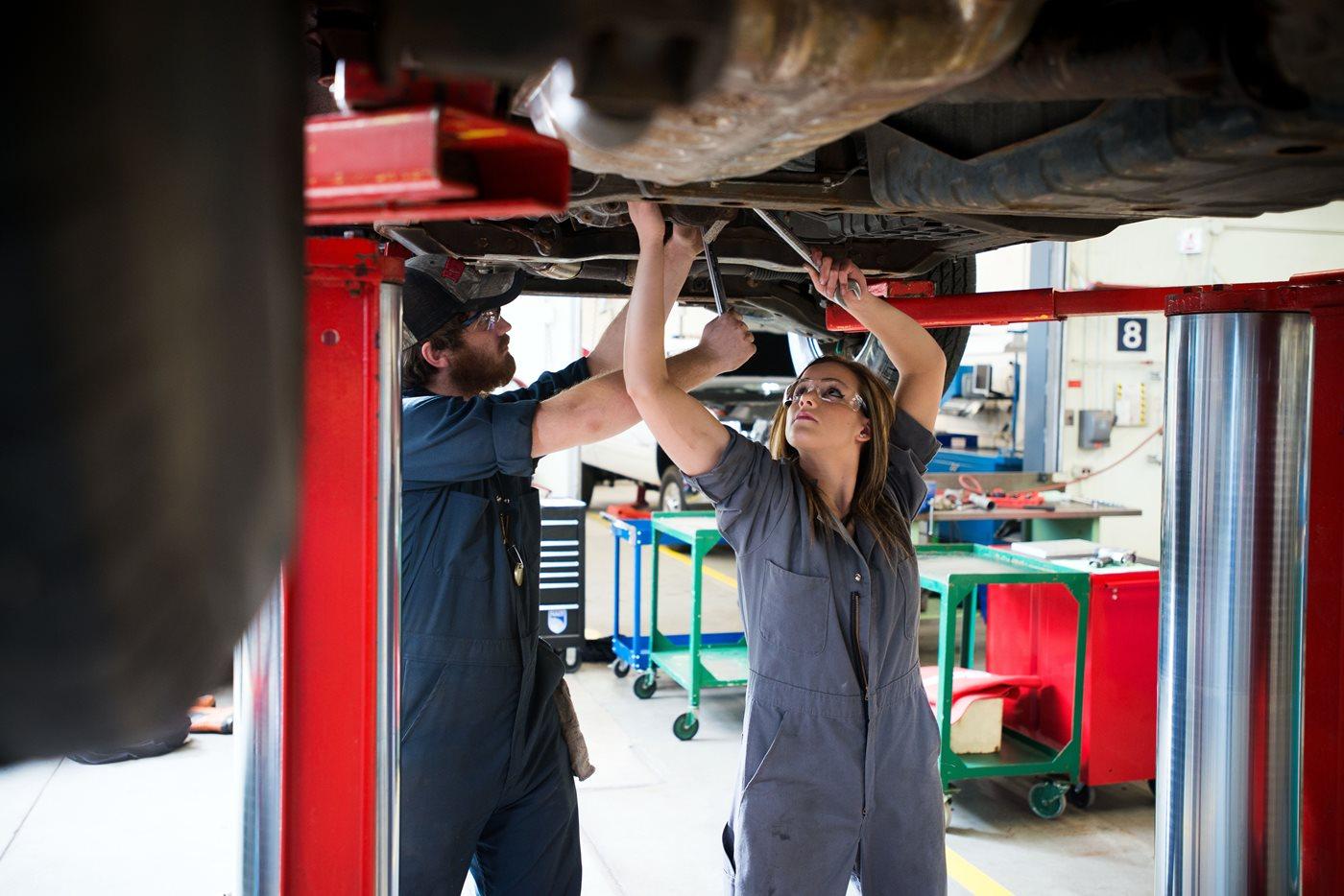 Pre-Employment Automotive Service Technician - NAIT