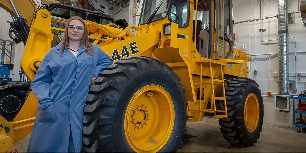 Heavy equipment grad 'never gave up' in face of adversity